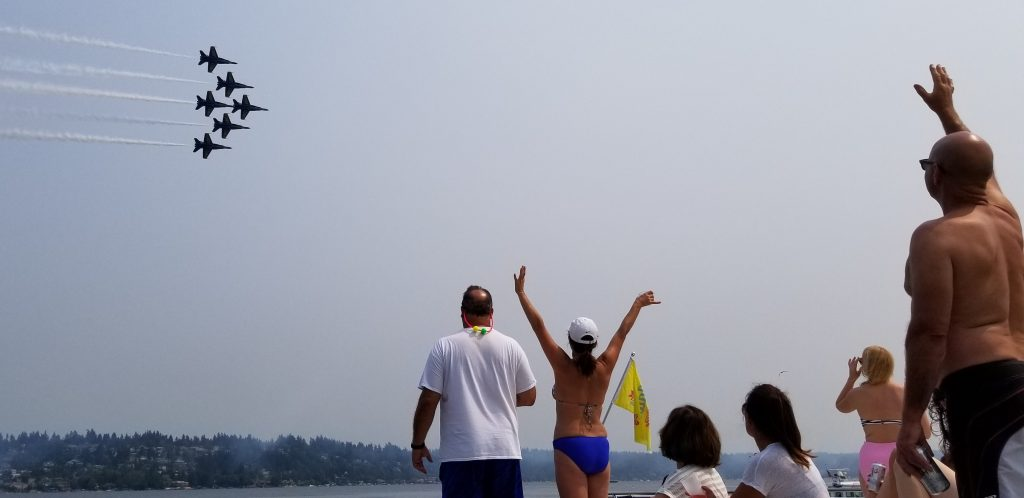 Seafair / Blue Angels Charter Boat