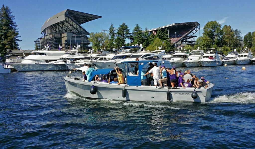 UW Husky Football Boat Charter