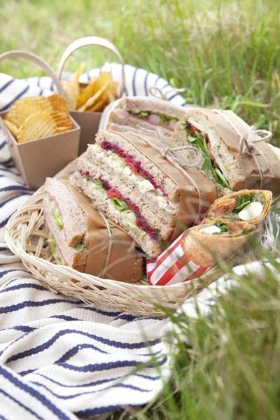 Ricette per picnic con i bambini ricetta sandwich golosi