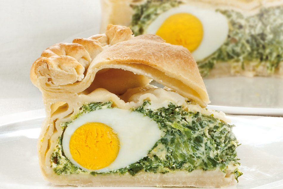 Ricetta Torta Pasqualina genovese con la prescinseua