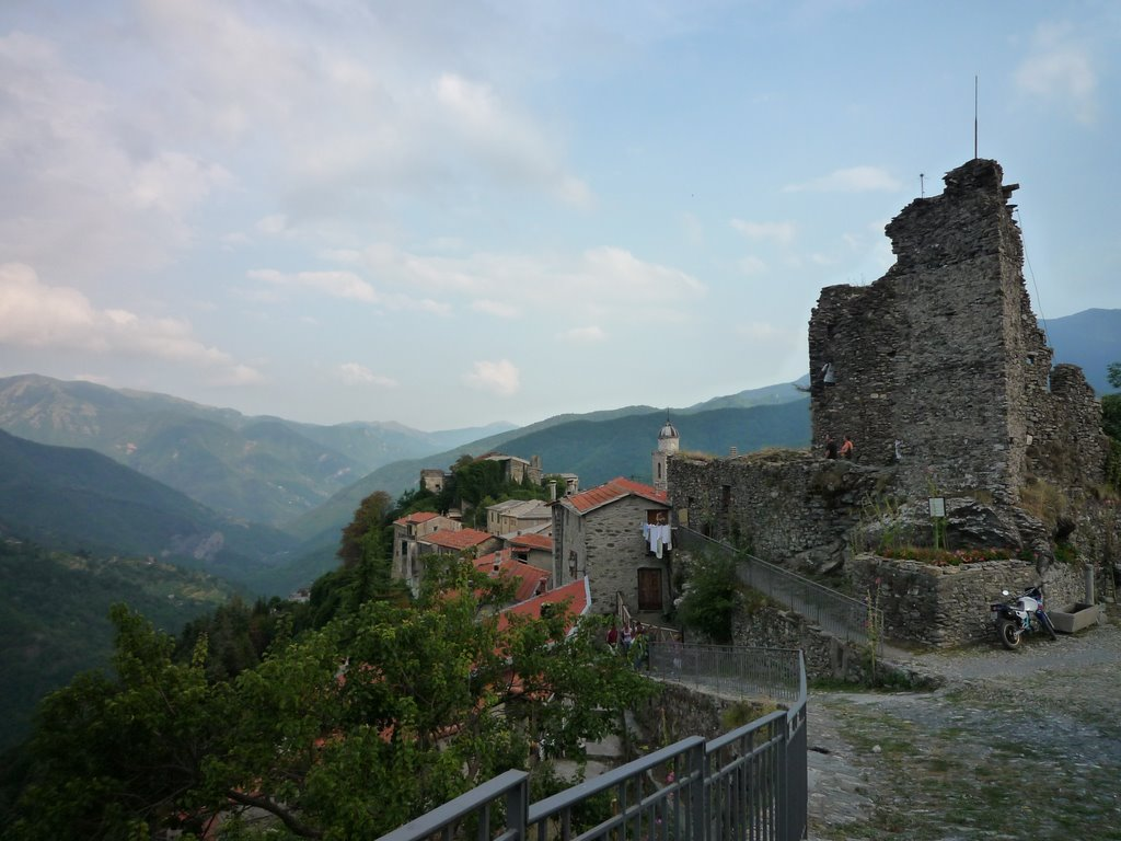 Triora vista del castello