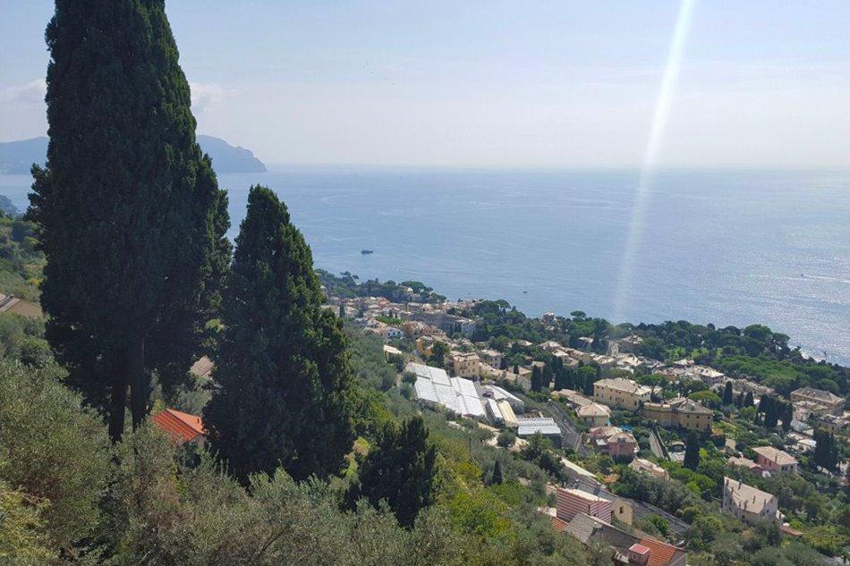 Sant'Ilario passeggiata con vista sul mare