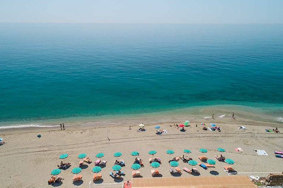 Framura spiaggia di Fornaci bandiera blu