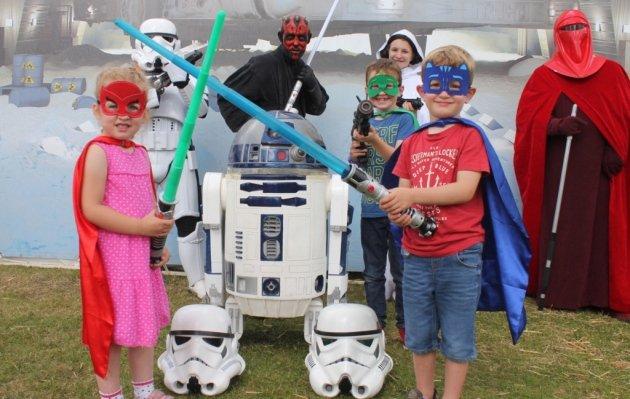 Costumi di carnevale per tutta la famiglia a tema Star Wars
