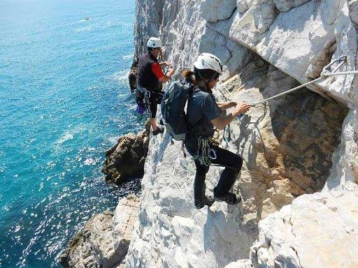 Finale Ligure scogliera da arrampicata