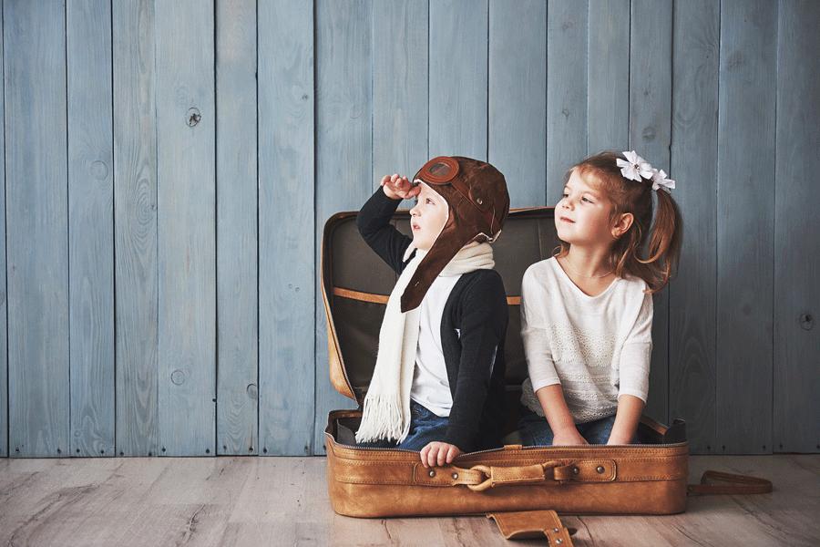 Cosa mettere in valigia con i propri bambini