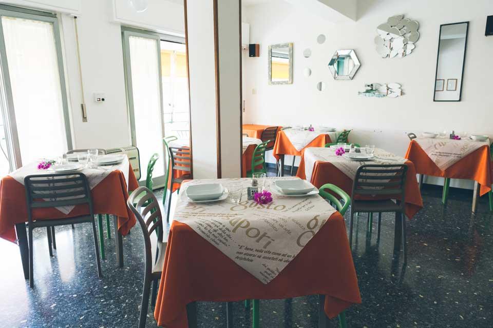 sala da pranzo hotel liliana
