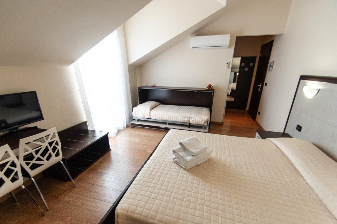 camera mansardata Hotel Rio