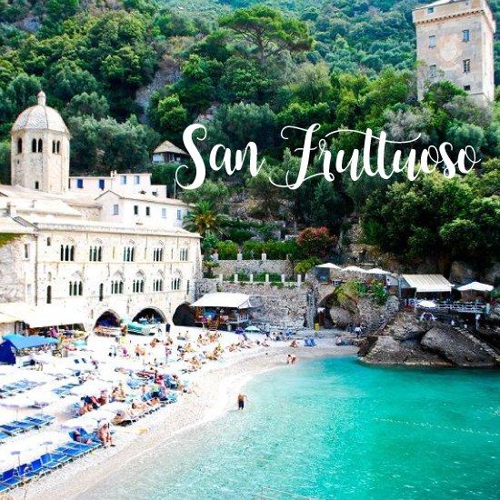 Spiagge più belle della Liguria San Fruttuoso