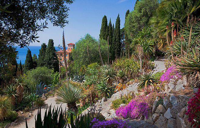 Parchi in Liguria Villa Hanbury