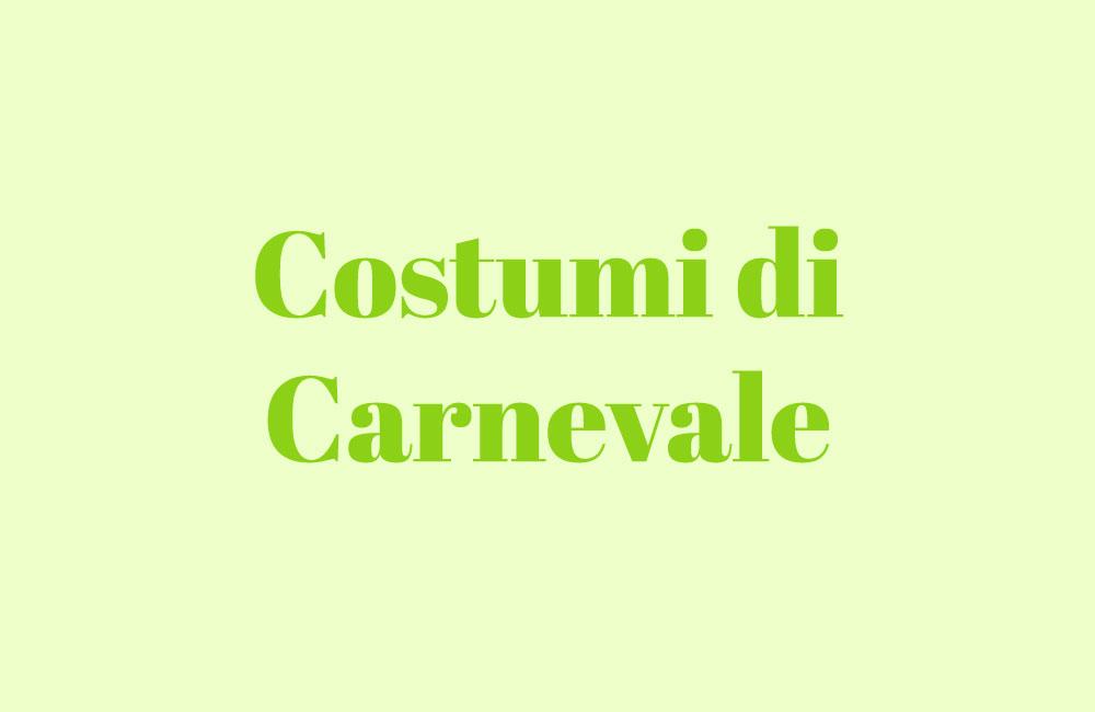 Carnevale-costumi