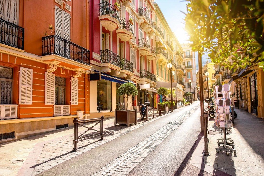 Costa Azzurra via di Monaco vecchia