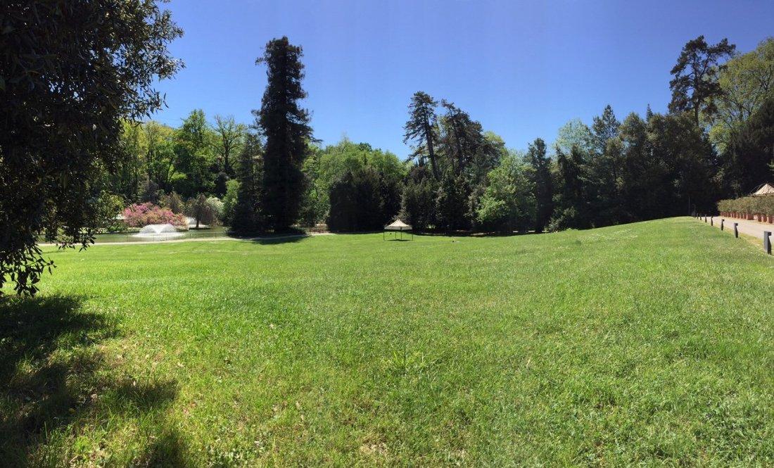 Parchi di Nervi con i suoi prati