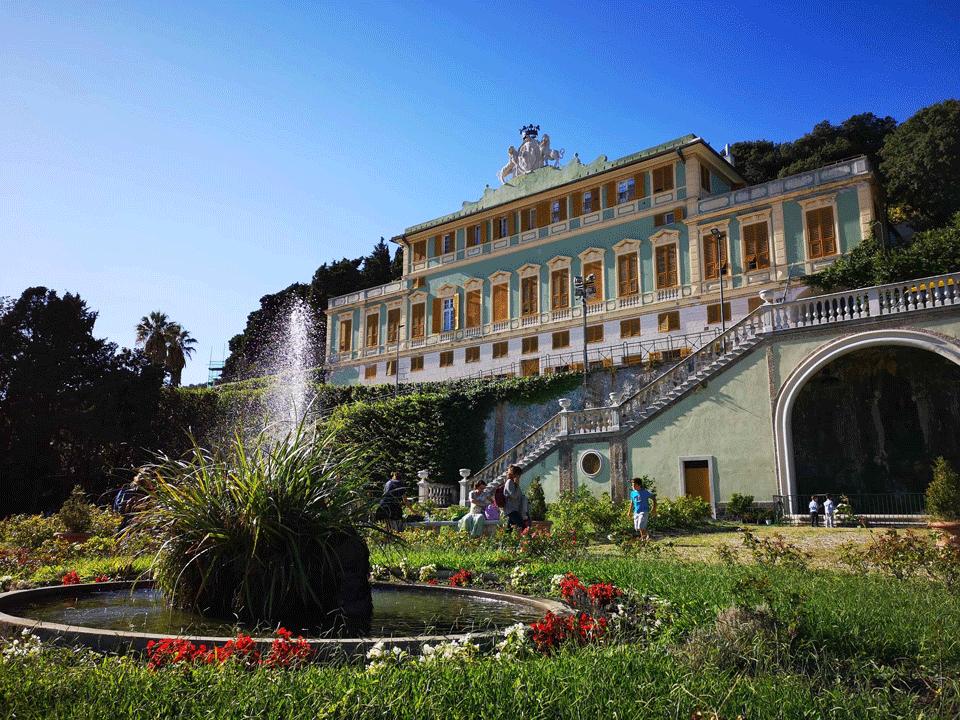 Villa Duchessa di Galliera parchi in Liguria