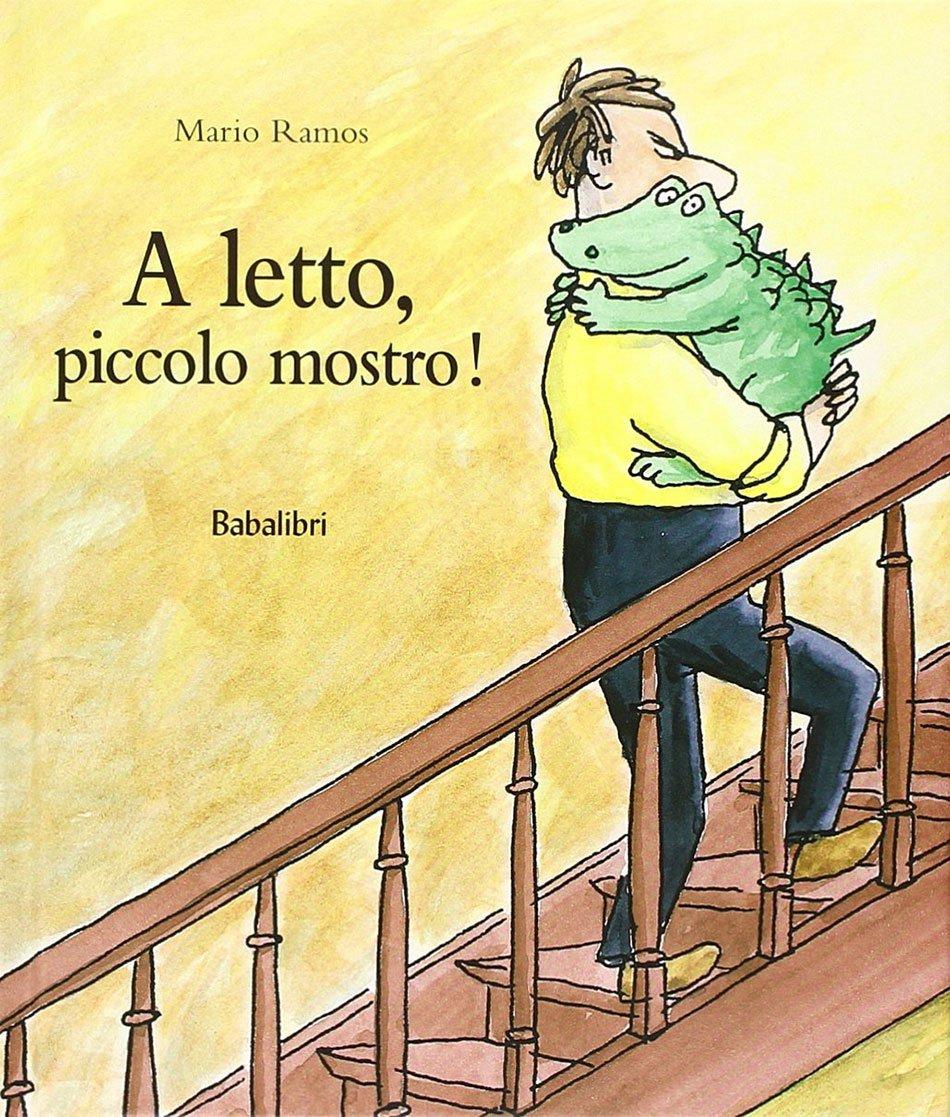Mario Ramos a letto piccolo mostro copertina