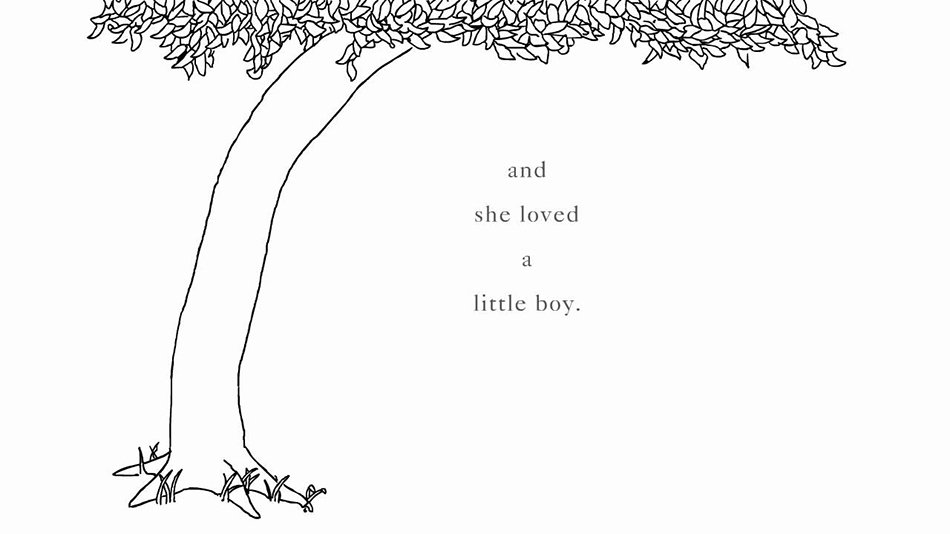 L'albero Shel Silverstein and she oved a little boy