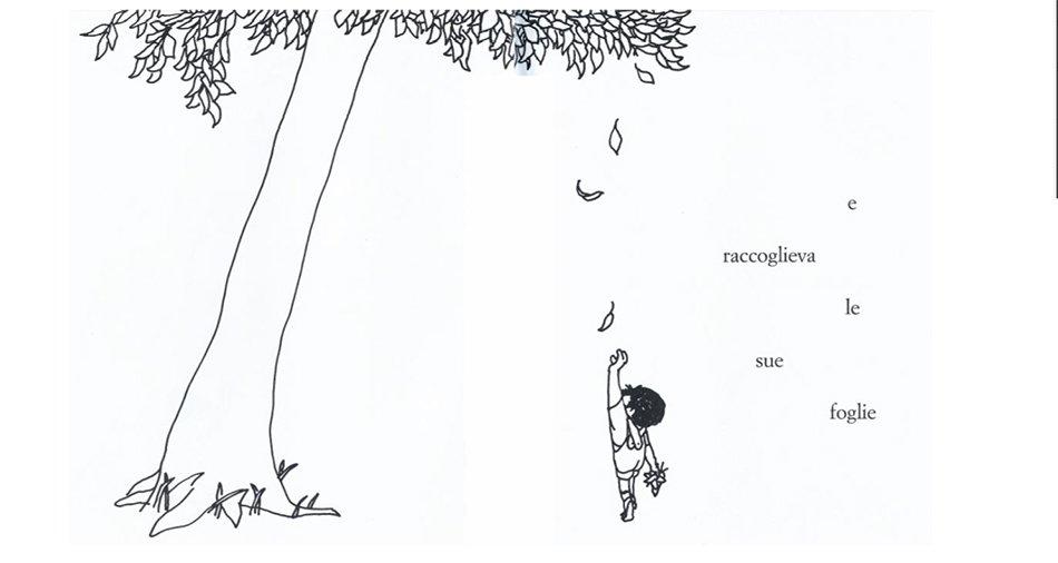 L'albero Shel Silverstein illustrazione interna