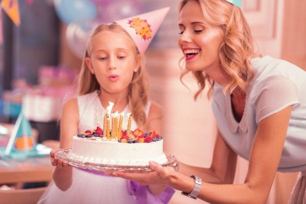 festa di compleanno la torta