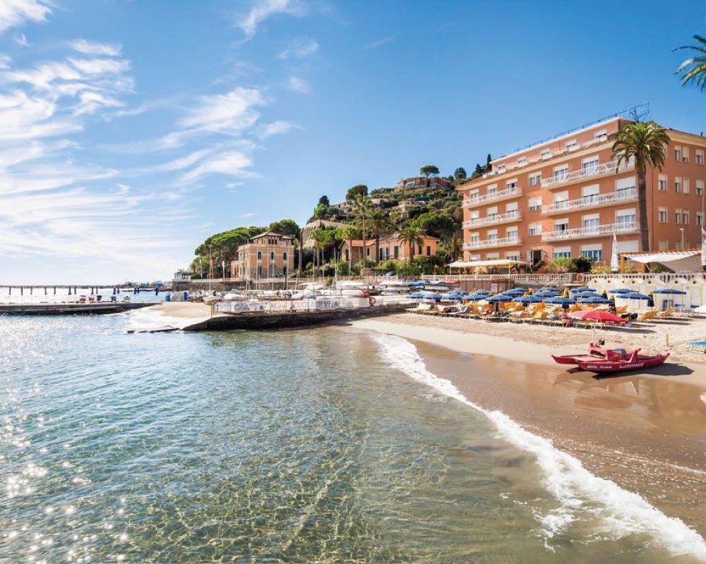 Spiaggia liguria Riviera dei Bambini