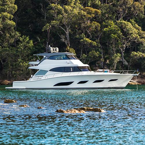 Riviera to Premiere magnificent new 68 Sports Motor Yacht at the Palma International Boat Show