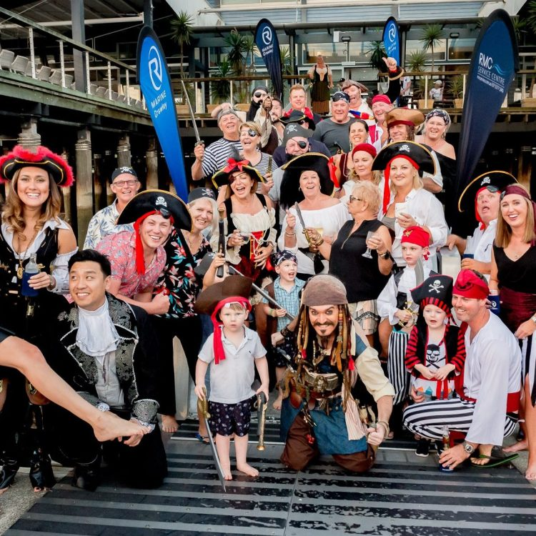 A Castaway Christmas for Riviera owners on the Gold Coast with R Marine Crawley