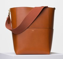 Celine-Seau-Sangle-Shoulder-Bag-Tan-2700