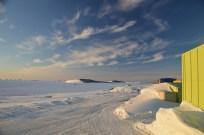Anchorage island with the polariser (again)