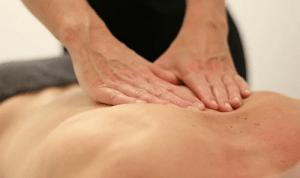 deep tissue session