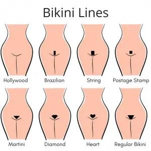 bikini waxing