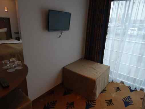 Driebeds kamer - extra bed tegen de muur