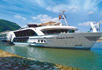 VIVA Cruises zet cruiseschip Robert Burns in