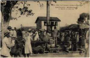 Siège de l'Eclair de Rivière-salée Martinique - photos anciennes