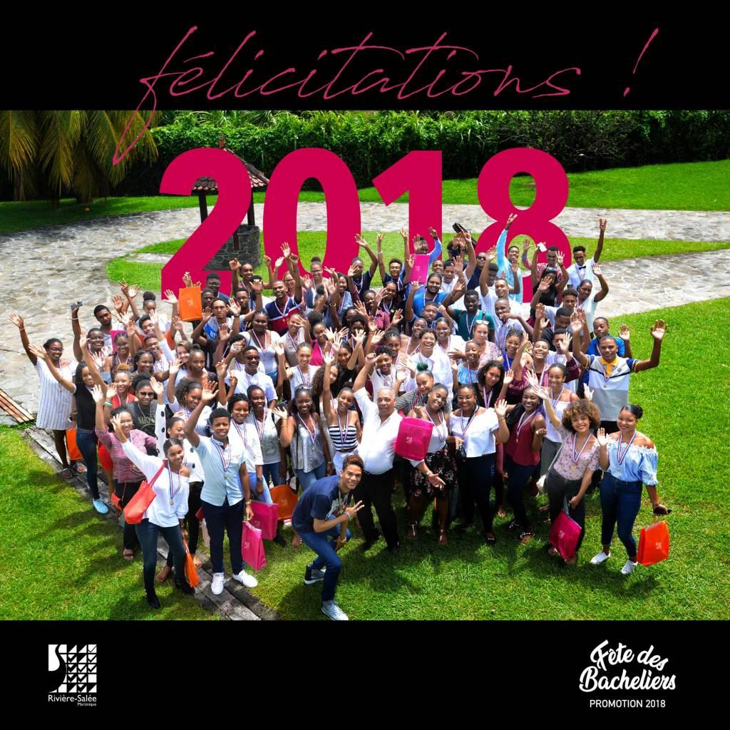 Fête des bacheliers à Rivière-Salée 2018