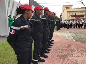 Les pompiers de Rivière-Salée