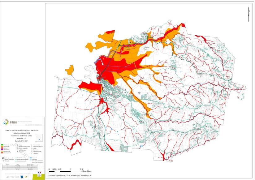 PPRN Rivière-Salée - Inondations
