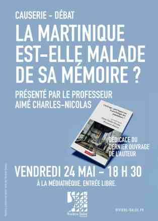 La Martinique est- elle malade de sa mémoire ?