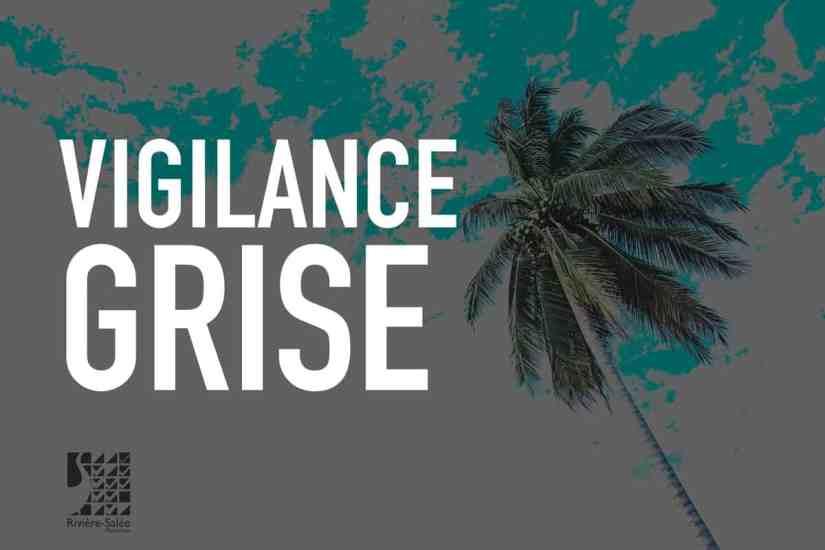 Consignes Vigilance grise Cyclone - Martinique