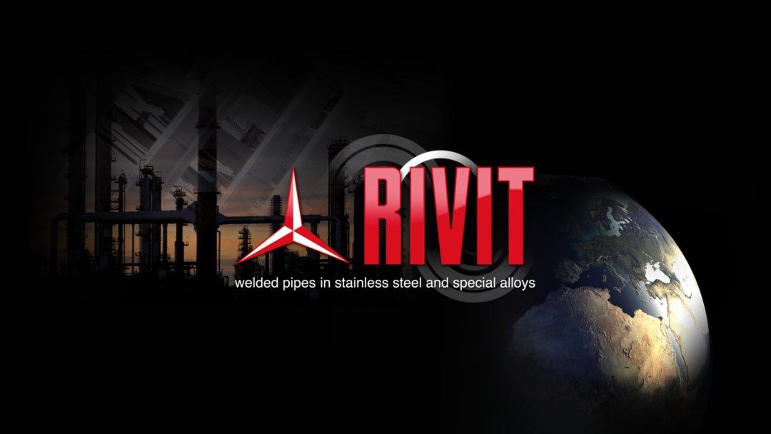Rivit welded pipes in stailess steel