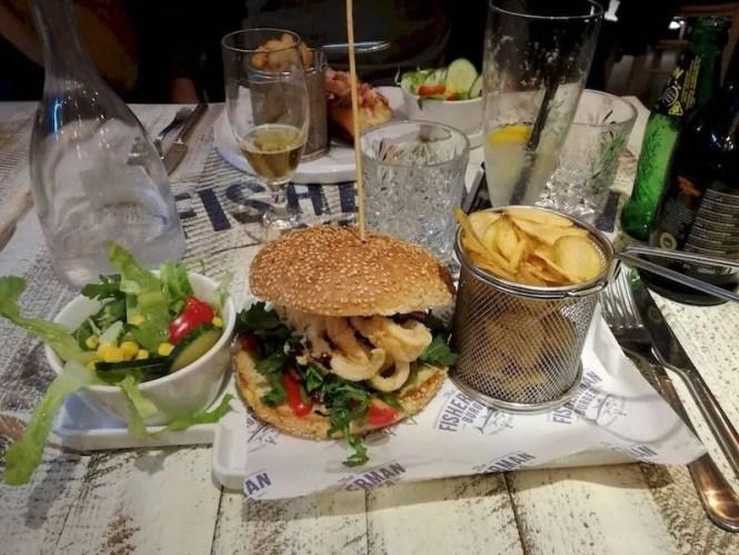 the fisherman burger roma