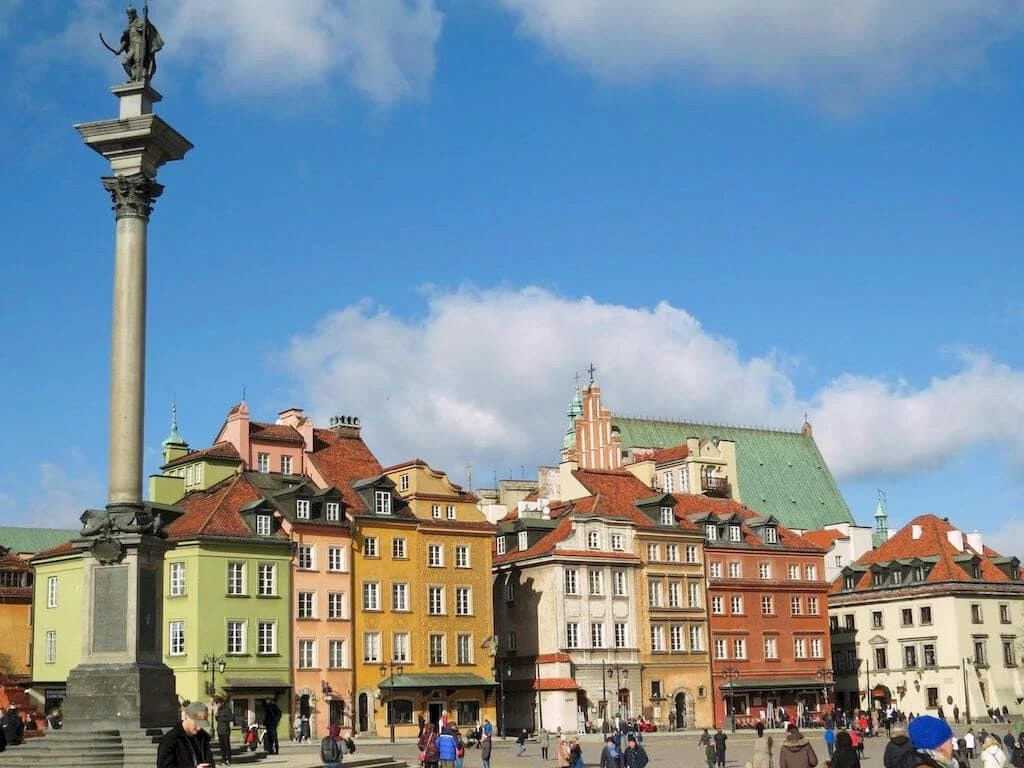 piazza del castello Varsavia