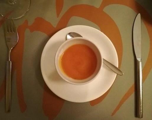 crema di zucca ristorante giallozucca mantova