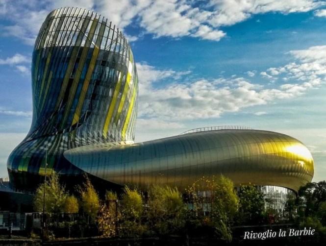Cité du Vin Bordeaux esterno