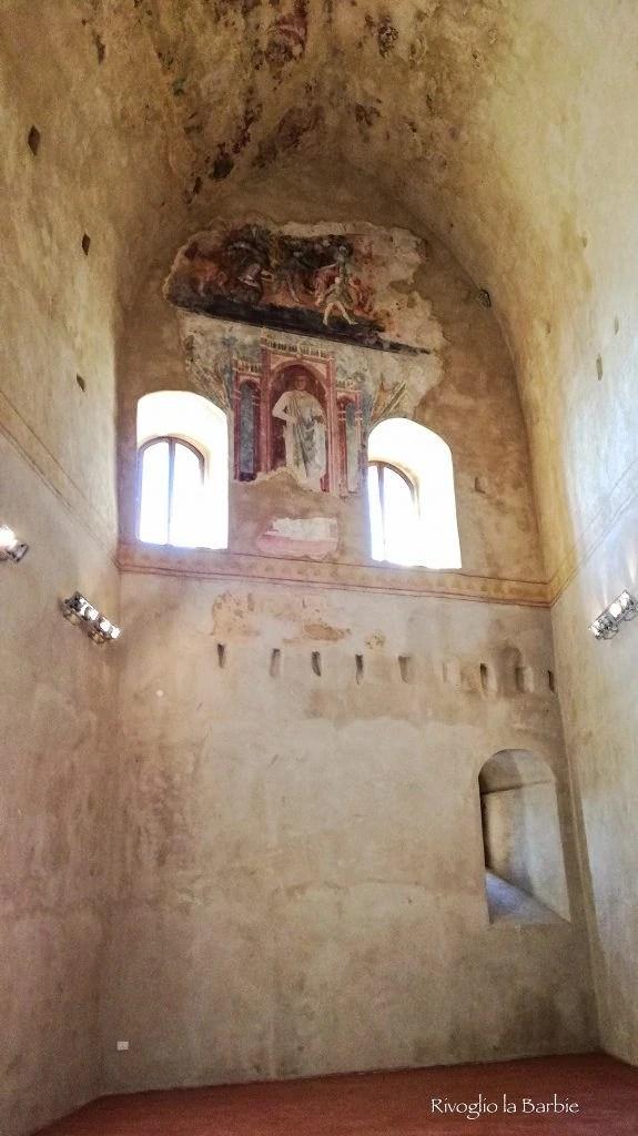 sala dell'imperatore castello di Montefiore Conca