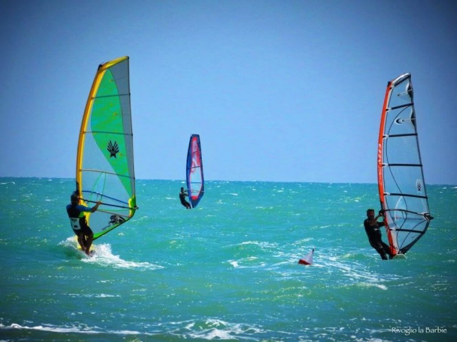 windsurf cupra marittima