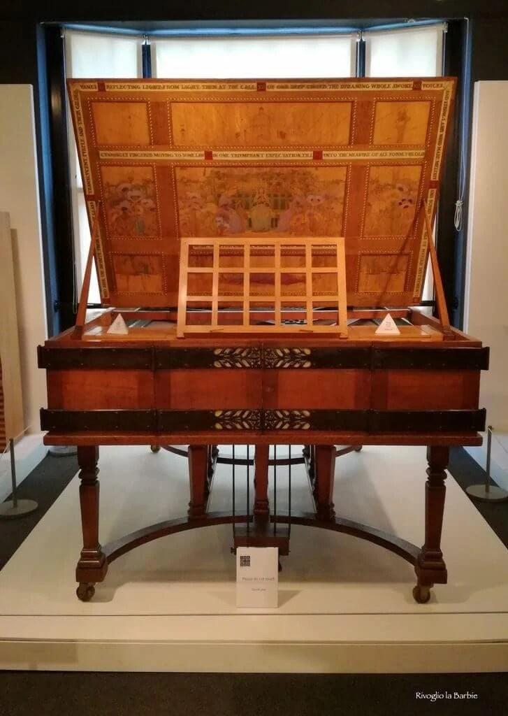 pianoforte Cheltenham museo The Wilson