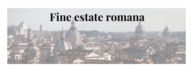 fine settimana a Roma