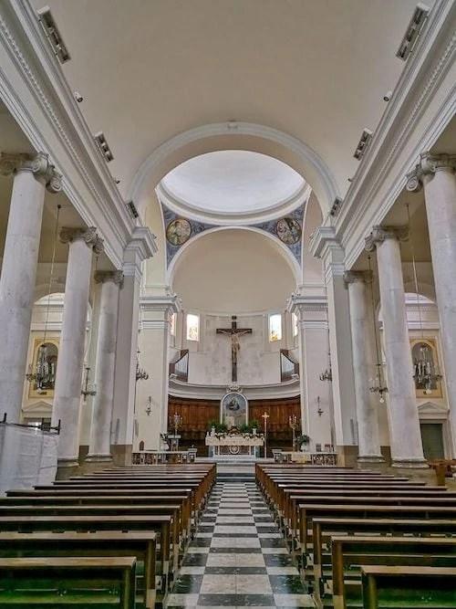 cattedrale di biccari interni