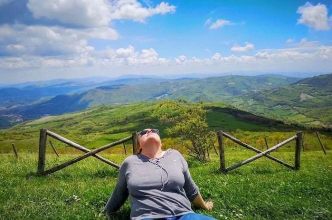 rilassarsi sul monte cornacchia