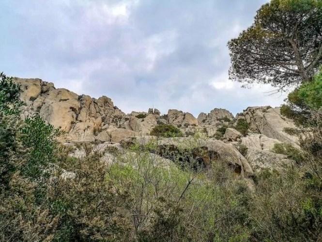 arcipelago la maddalena granito rocce
