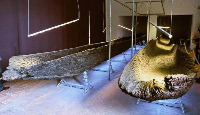 piroghe necropoli di Spina Ferrara